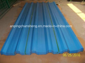 Trapezoid Steel Sheets for Roofing (15years experience) pictures & photos