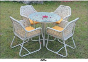 Strong PE Rattan Outdoor Furniture for Dining Table pictures & photos