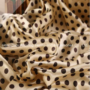 Printed Satin Fabric/100%Polyester Satin Fabric/Silk Fabric pictures & photos