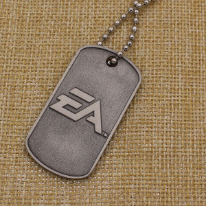 Promotion Custom Metal Dog Tag with Necklace pictures & photos
