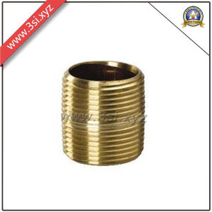 Quality ANSI B 16.11 Copper Male Thread Barrel Nipple (YZF-M559) pictures & photos