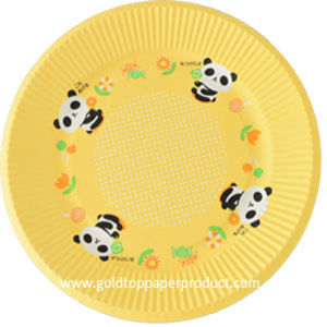 BV FDA Certified Paper Dinner Plates pictures & photos