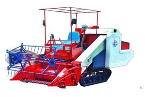 Rice & Wheat & Soybean Combine Harvester (LDG-4LZ-1.0) pictures & photos