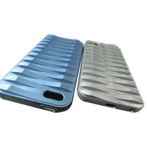 Custom Aluminum Machining Parts with Blue Anodize pictures & photos