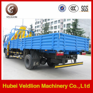 Mini 4 Tons Cargo Truck with 3.2 Tons Crane pictures & photos