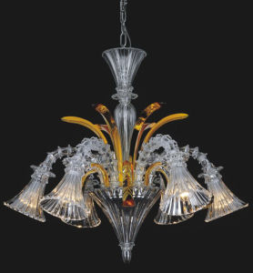 Modern Clear Glass Pendant Lighting Chandelier (81079-6) pictures & photos
