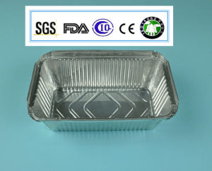 Alloy 8011-0 7microns 10.8g Convenient Use Aluminum Foil Tray pictures & photos
