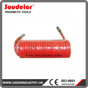 "Air PU Hose with 1/4"" Double Male Fitting pictures & photos"