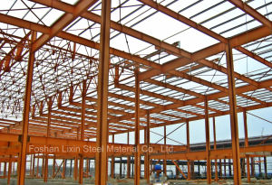 Steel Building Frame as Two Floors Warehouse pictures & photos