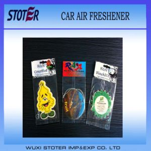 Hanging Promotion Air Freshener for Advertising pictures & photos