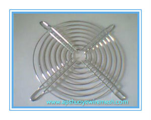 Zinc Galvanized Steel Industrial Fan Guard for Heat Exhanger Protection pictures & photos