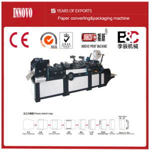Automatic Wallet Style Envelop Making Machine (ZXXF-320) pictures & photos