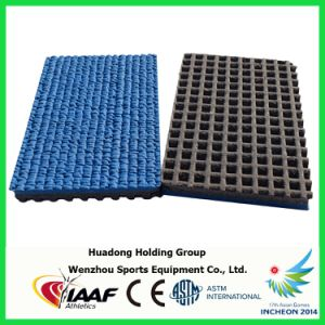 Iaaf Professional Waterproof 13mm Rubber Running Track pictures & photos
