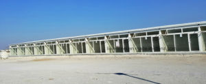 Qatar Steel Prefabricated Dormitory House with Sandwich Panel pictures & photos
