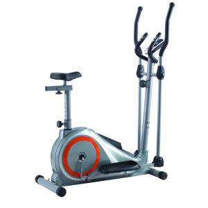 New Upright Magnetic Elliptical Bike Exercise Bike for Home or Light Commercial 84002