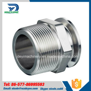 Stainless Steel 21MP NPT Male Hexagon Clamped Adapter (DY-A010) pictures & photos