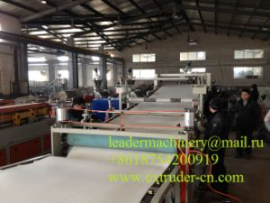 PVC Free Foam Board Extrusion Line / PVC Advertising Sheet Extrusion Machinery pictures & photos