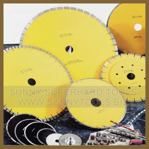 for Different Size Blade: 350mm-3500mm Diamond Circular Saw Blade for Stone Granite Marble Cutting pictures & photos