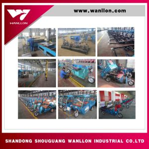 Gasoline Cargo 3 Wheel Motorycle /Tricycle with Simple Cabin pictures & photos
