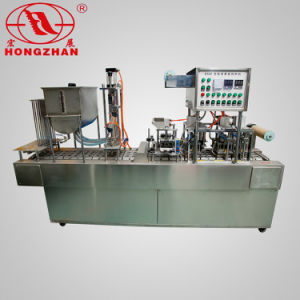 Hongzhan Bg32A Automatic Cup Filling and Sealing Machine pictures & photos