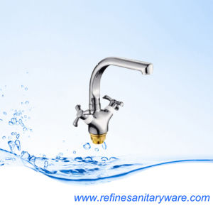 New Style Ceramic Cartridge Kitchen Mixer Faucet (R7018877C-M7317Y) pictures & photos