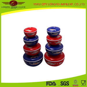 4PCS Colored Plastic Food Preservation Container pictures & photos