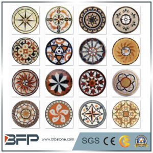 Natural Marble Medallion Stone Carving