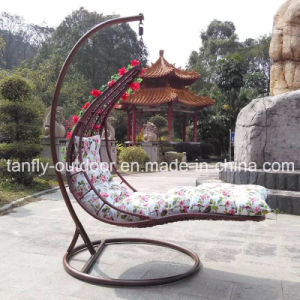 New Design Outdoor Hanging Chaise Lounger Chair pictures & photos