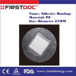 High Quality OEM Diameter 25mm P Material Transpaprent Color Adhesive Bandages pictures & photos