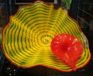 Hand Blown Murano Glass Bowls for Table Decorations