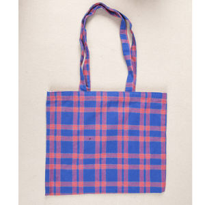 a Large Ecological Cotton Canvas Shopping Bag pictures & photos