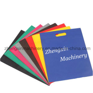 Non Woven Bag Making Machine with Good Quality (4-IN-1) pictures & photos