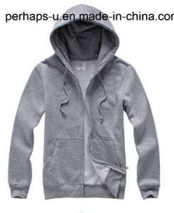 Men′s Casual Cotton Hoodies & Hoodie Coat with Multiple Colour pictures & photos
