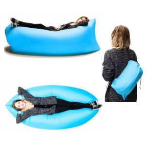 China lamzac hangout inflatable sofa beach sleeping bag for Sofa hinchable lamzac