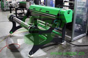 Ungar Aluminum Foil Container Making Machine Foil Coil Decoiler with Lubrication Unit Embosser Available (UNDE-063)