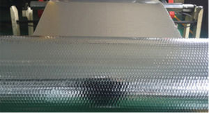 Reflective Aluminum Foil or Metalized Pet Insulation Coated with PE for Radiant Barrier pictures & photos