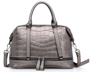 Italian Leather Handbag Ladies Bags in China with SGS (ZX10298) pictures & photos