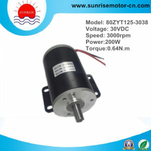 30VDC High Quality DC Motor with Mounting Foot pictures & photos