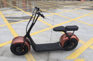 New Big Tire City Scooter with Two Seat pictures & photos