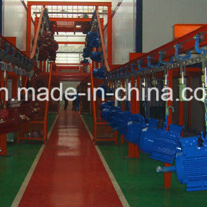 Hot Sale Electrostatic Painting Production Line with Best Price pictures & photos