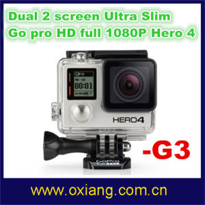 Go PRO Hero 4 Waterproof HD 1080P Video Digital Sport Action Camera DV WiFi (G3) pictures & photos
