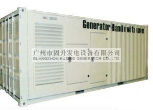 Guangzhou 687.5kVA Diesel Generator Soundproof Generator with Perkins Marathon Engine