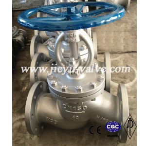 Carbon Steel A216wcb Flanged Globe Valve with RF /Rtj pictures & photos