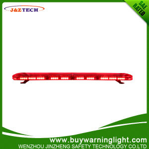 Police Use Red LED Lightbar Super Thinner Lighting
