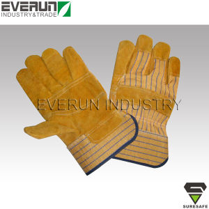 Industrial Safety Gloves Leather Gloves Welding Gloves pictures & photos