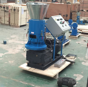Flat Die Pellet Machine with Ce pictures & photos