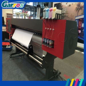 Dx5 Head High Speed Garros Digital Polyester Fabric Printing Machine with Sublimation Paper pictures & photos