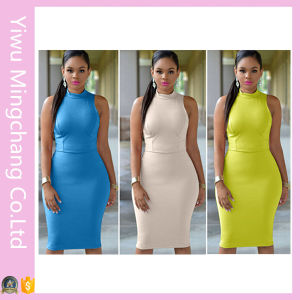 Latest Cheap Women Short Party Bodycon Dresses pictures & photos