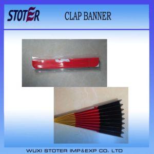 Foldable Paper Fan Clapper, Banner Clapper, Clap Banner pictures & photos