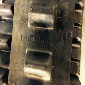 """6""""X3.5""""X28 Agricultural/Graden Tracks Are Populared by France Clients pictures & photos"""